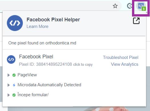 promovare facebook Purple